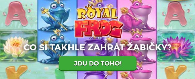 Royal Frog casino hra
