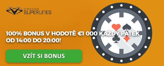 Casino bonus v superlines casino od 14:00 do 20:00