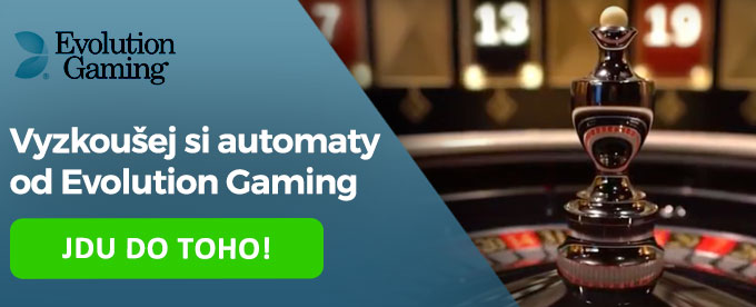 Casino ruleta od Evolution Gaming