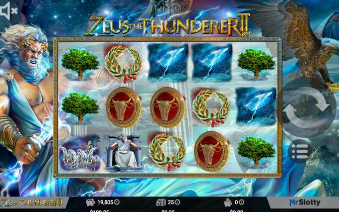 Zeus the Thunderer 2 herní automat