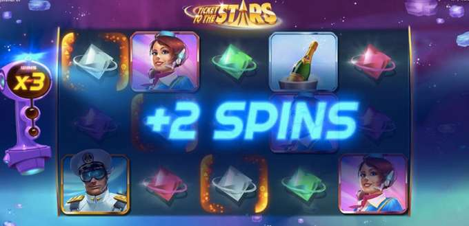 Tickets to the stars casino hra