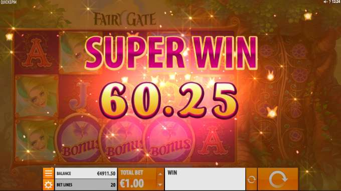 FairyGate casino hra od Quickspin