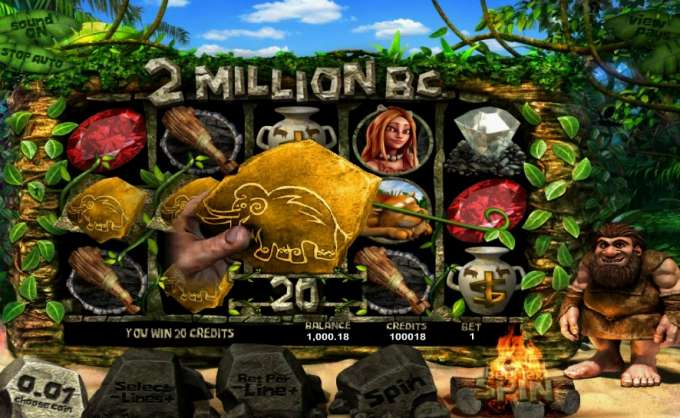 2 Million B.C herní casino automat od Betsoft