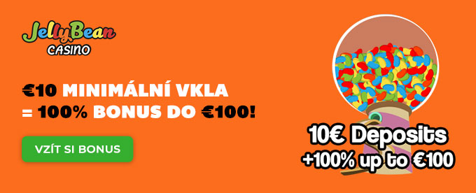 Za €10 máš 100% bonus do €100!