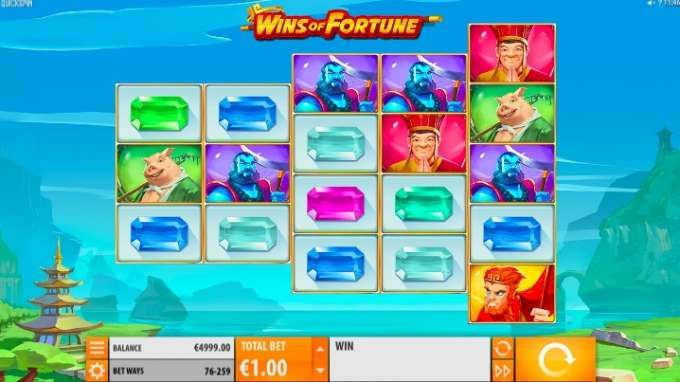 Casino hra Wins of Fortune