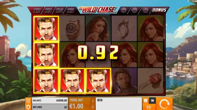 The Wild Chase casino hra