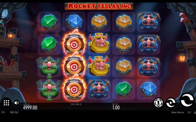 Casino hra Rocket Fellas