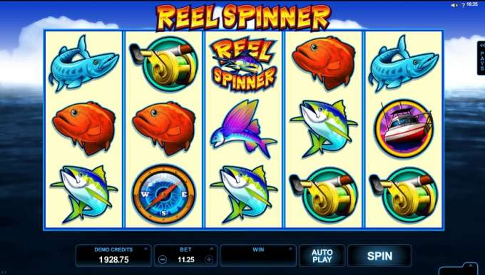 Reel Spinner casino hra