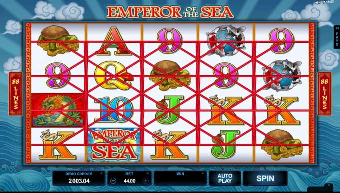 Emperor of the Sea casino hra