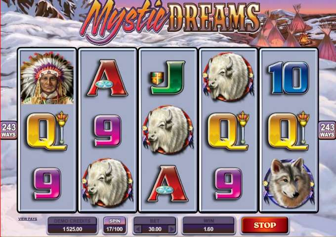 Mystic Dreams casino hra
