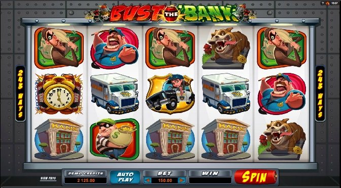 Bust the Bank casino hra