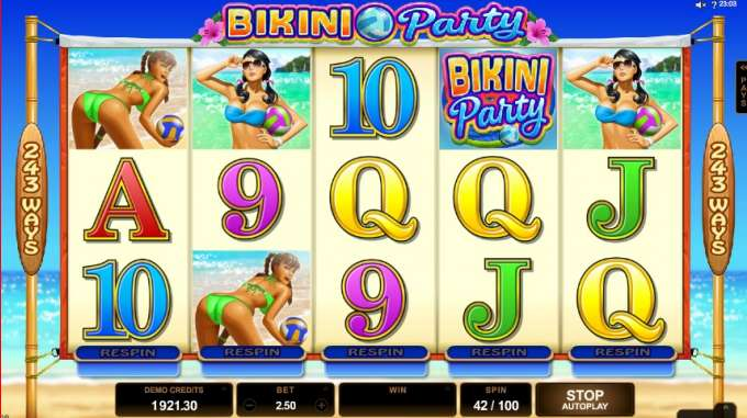 Bikini Party casino hra