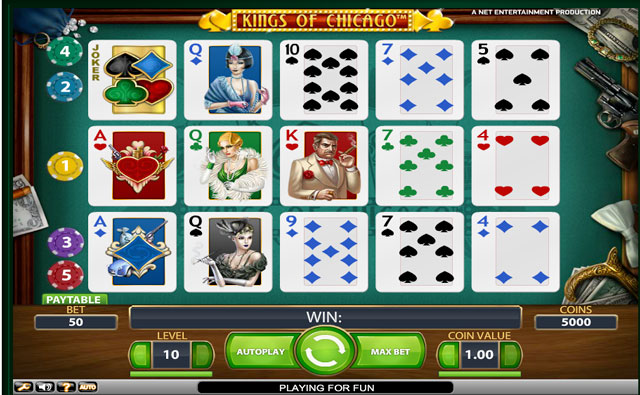 Kings of Chicago si vyzkoušíte v Casino-x