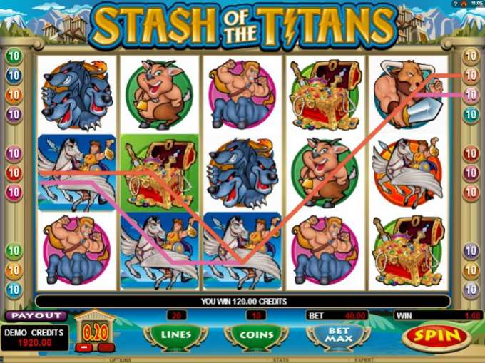 Stash of the Titans bonus