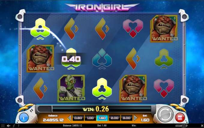 Iron Girl casino automat