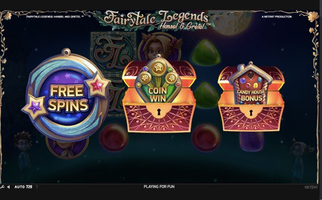 Fairytale Legends Hansal & Gratal bonus