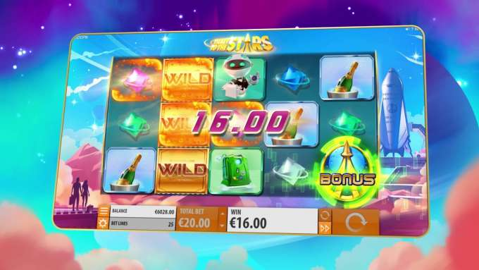 Ticket to the stars - Quickspin Slot