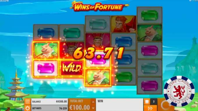 Wins of Fortune | Bob Casino | 10 otočení zdarma