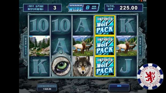 Untamed Wolf Pack | 10 Free spins | Bob Casino