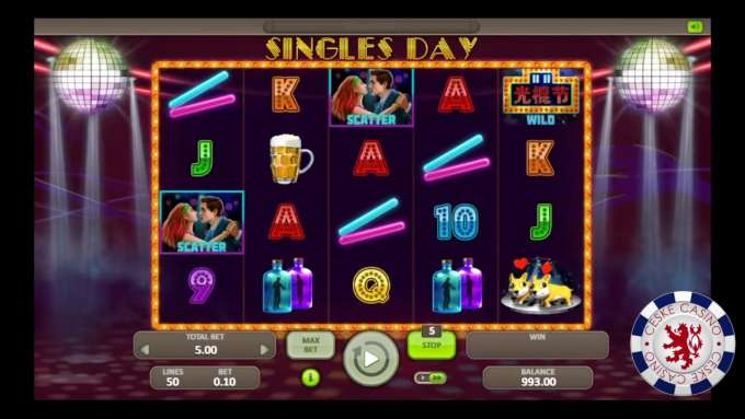 Singles Day | Casino Atlantic | Booongo games