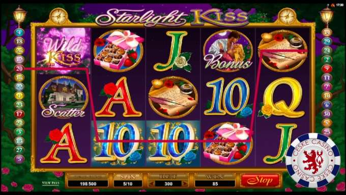 Starlight Kiss | 10 Free spins | Bob Casino