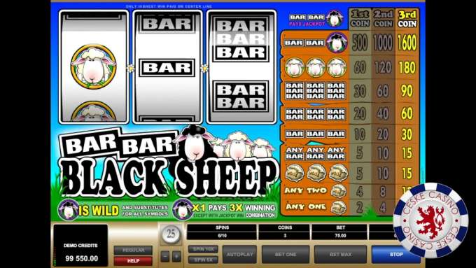 Bar Bar Black Sheep | 10 Free spins | Bob Casino