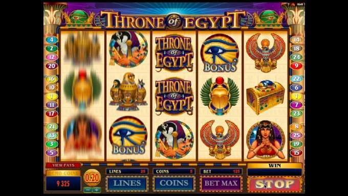 Throne of Egypt | Microgaming | Online casino hra