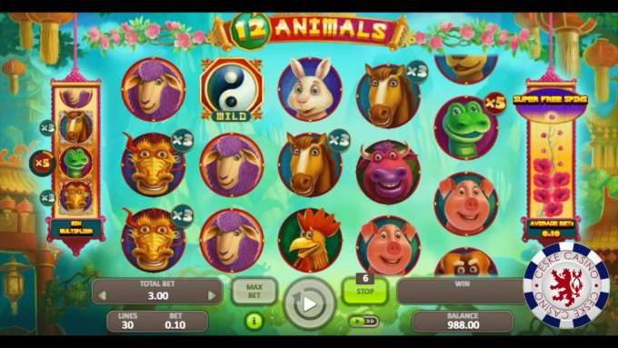 12 Animals| Casino La Fiesta | Booongo Gaming