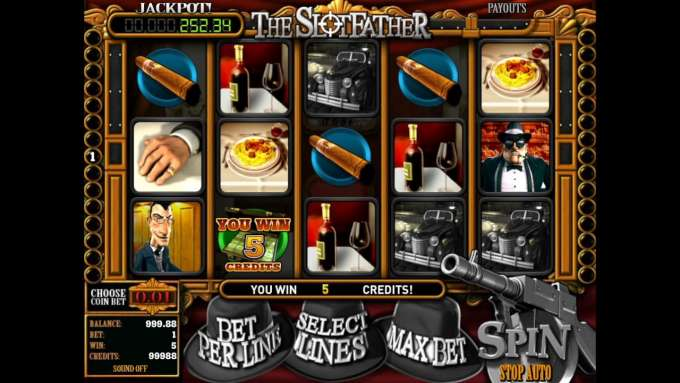 The Slotfather automat - Casino Superlines