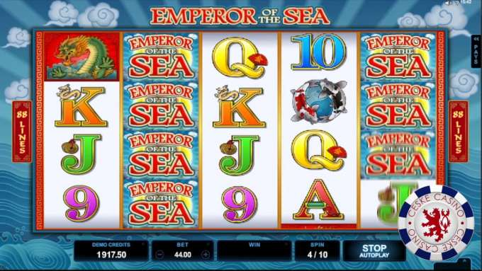 Emperor of the Sea | 10 Free spins | Bob Casino
