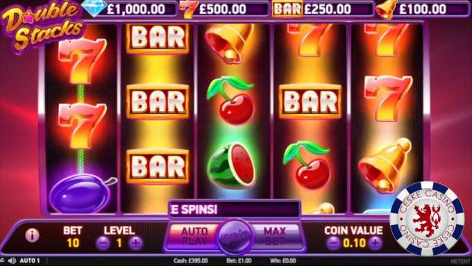 Double Stacks | 10 Free spins | Bob Casino