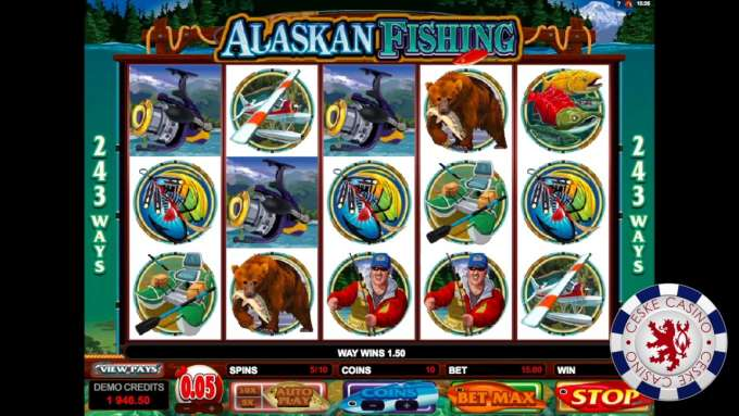 Alaskan Fishing | 10 Free spins | Bob Casino