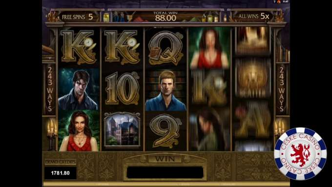 Immortal Romance | 10 Free spins | Bob Casino