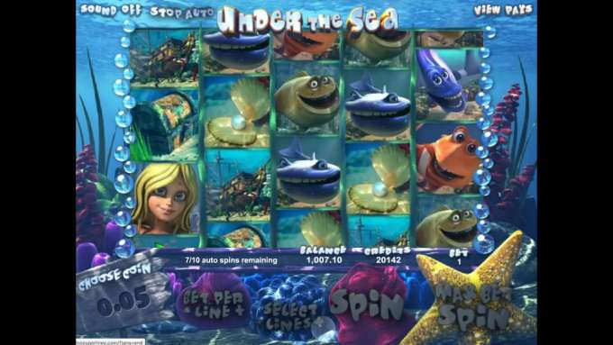 Under the Sea automat - Casino Superlines