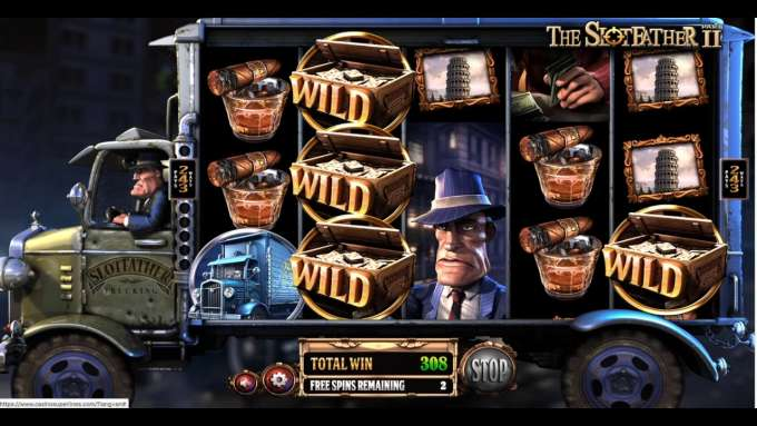 The Slotfather 2 automat - Casino Superlines