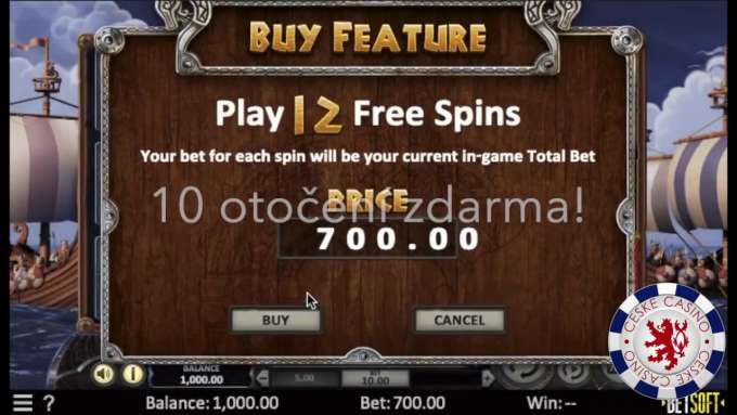 Viking Voyage | 498 EUR BIG WIN - Casino hra od Betsoft