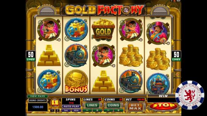 Gold Factory | Microgaming | 10 otoček zdarma